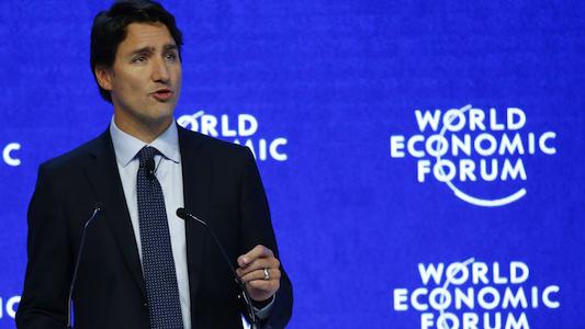 16-01 Trudeau at Davos