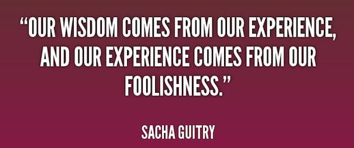 16-05 09 Wisdom & Foolishness