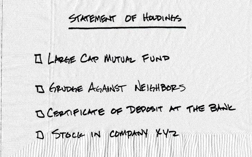 16-08 3.1 Statement of Holdings